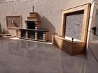 شقة شبه ارضي في مرج الحمام مساحتها 285 متر داخلي و250متر خارجي جديدة لم تسكن للبيع بسعر مغري