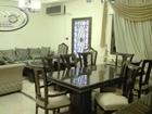 شقة ارضية مفروشة للايجار قرب الموفنبيك مساحة 165 مع حديقة 100م ومسبح