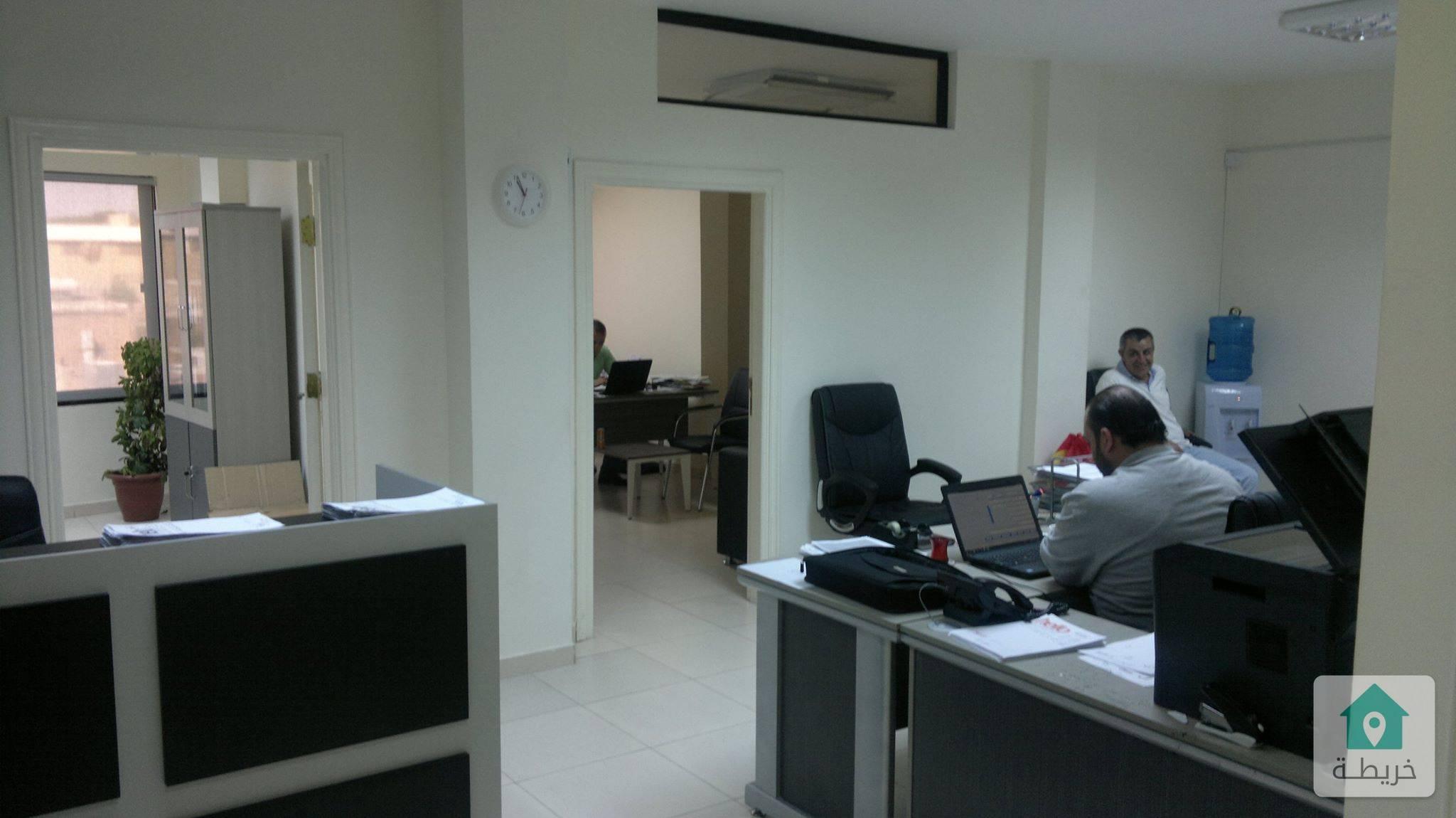 مكتب للايجار قرب جمرك عمان