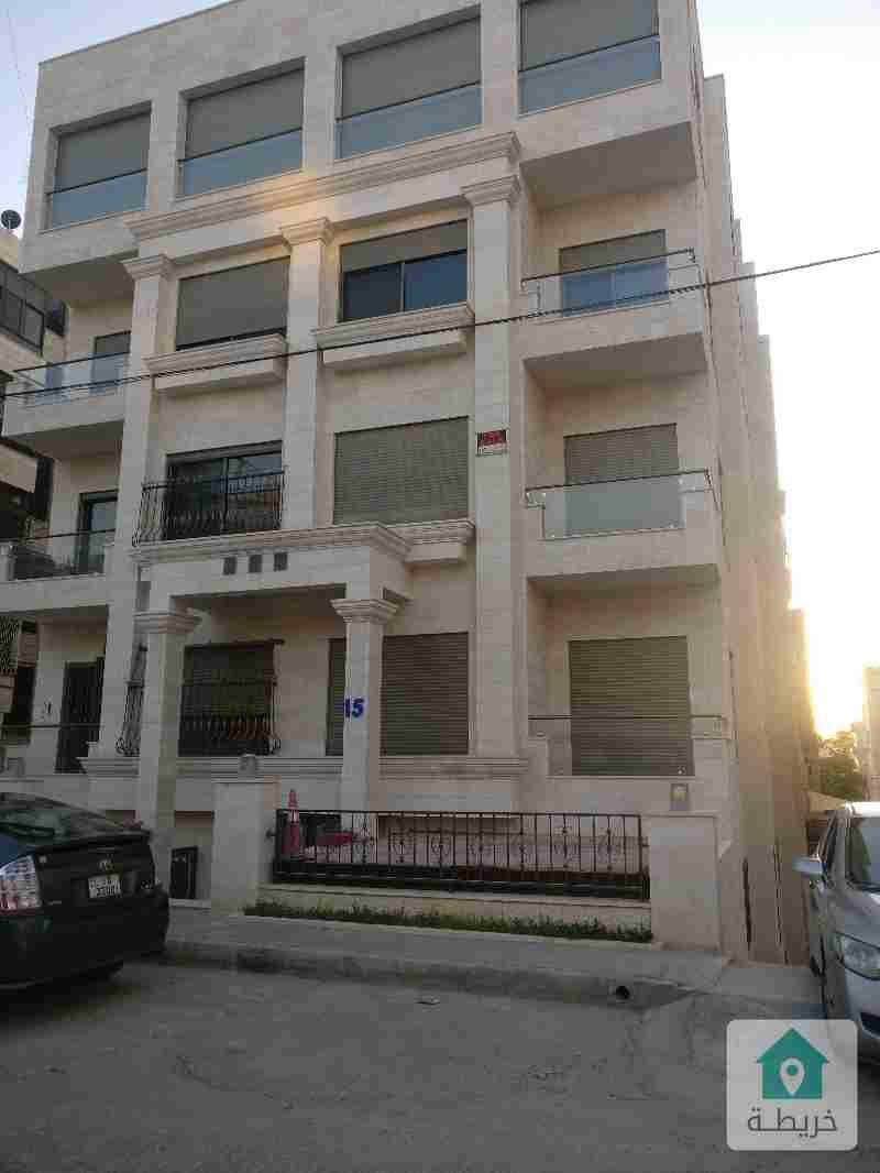 شقة مميزة للبيع حي الروابي خلف السفارة الرومانية