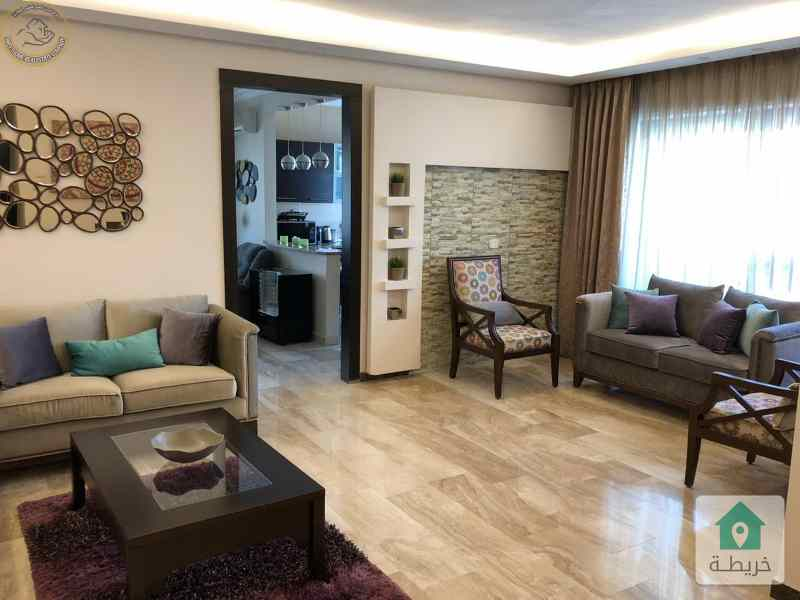 شقة فاخرة للبيع في خلدا قرب الهمشري طابق ثاني 130م بسعر 98000.