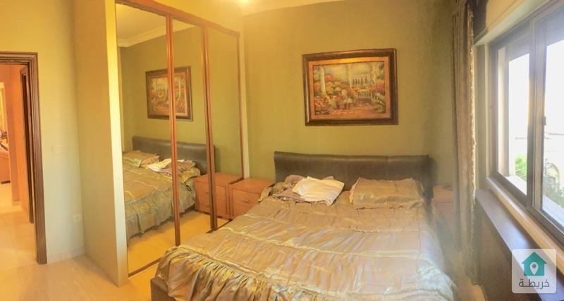 شقة فاخرة 150م مفروشة فرش فاخر للايجار بالقرب من الرابية