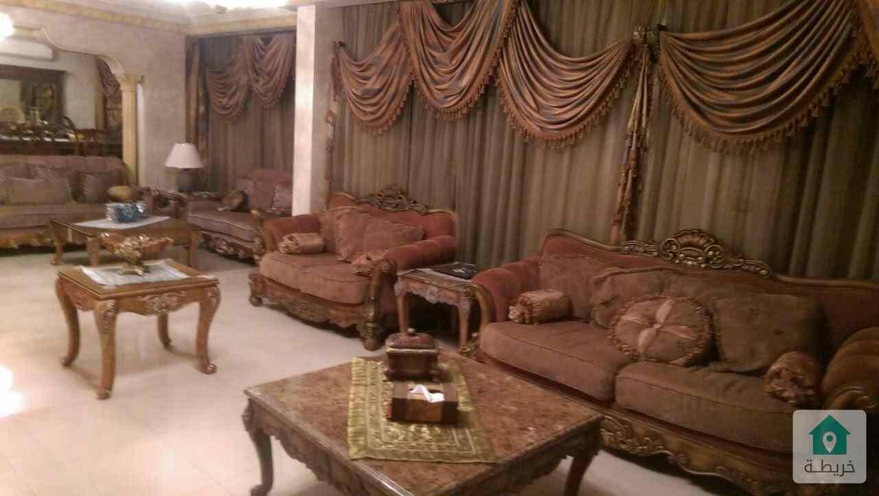 شقة أرضي طابقية للبيع في طريق المطار حي الصحابه مقابل مطعم قرية النخيل