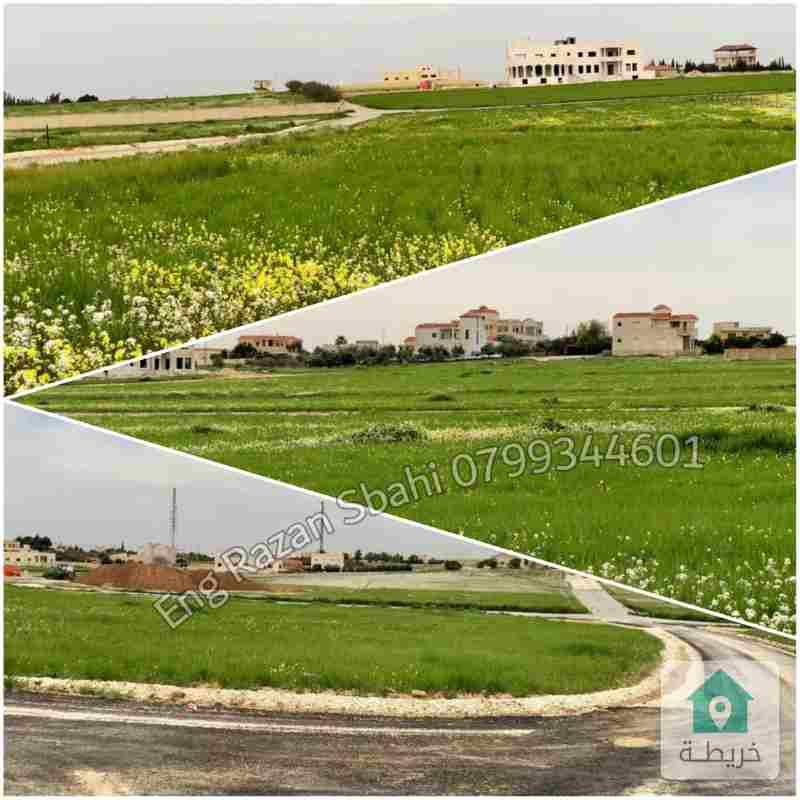 أرض سكنية للبيع في جنوب عمان _منجا_من المالك مباشرة