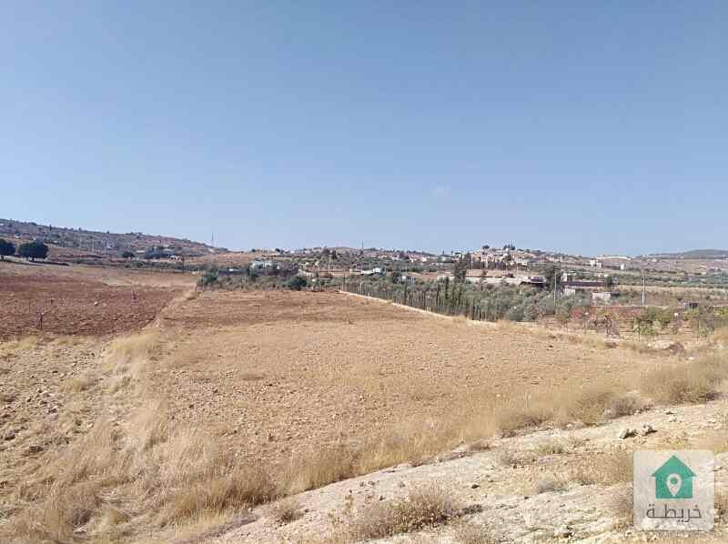 ارض للبيع منطقة نادرة طريق جرش المفرق