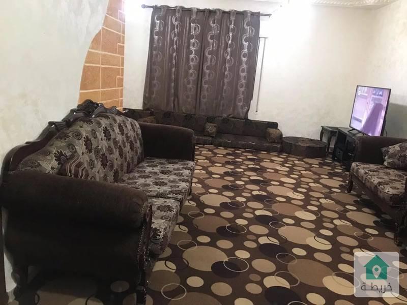شقة مفروشة في الجبيهة 150 متر قرب دوار المنهل والجامعة الاردنية مقابل مدارس الابداع