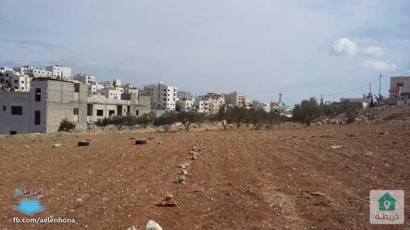 ارض للبيع في شفا بدران/ مرج الاجرب - تبعد 1 كم عن مؤسسة الغذاء و الدواء