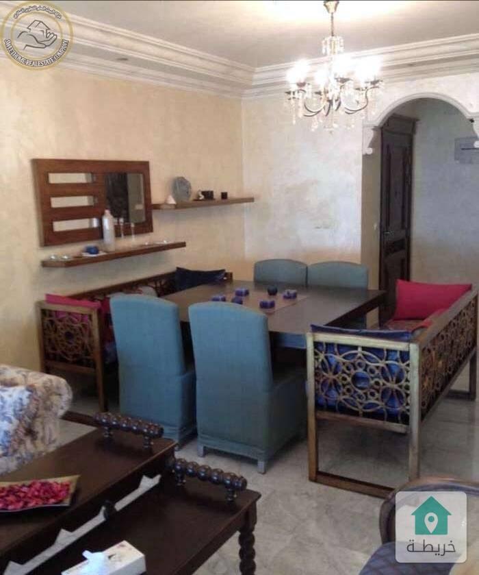شقة مفروشة مميزة للبيع في الكرسي طابق ثالث ١٥٠م بسعر مغري ٧٨٠٠٠