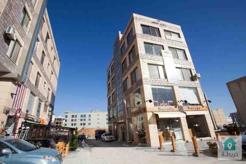 محلات تجارية للبيع او للايجار في السابع قرب مشاوي عمان رائد خلف للاسكان