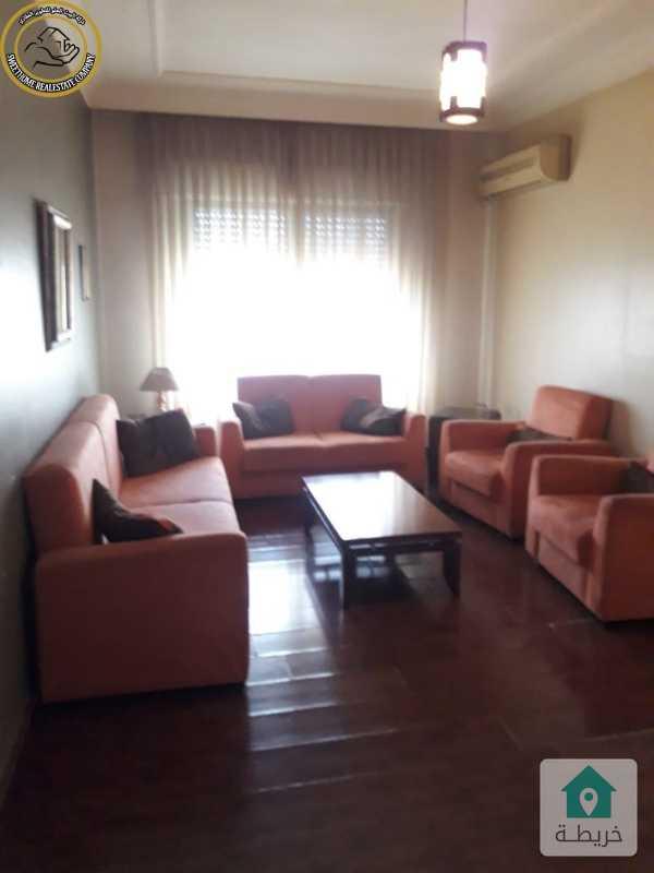 شقة مفروشة مميزة للبيع في الرشيد طابق ثالث 150م بسعر مغري 73000