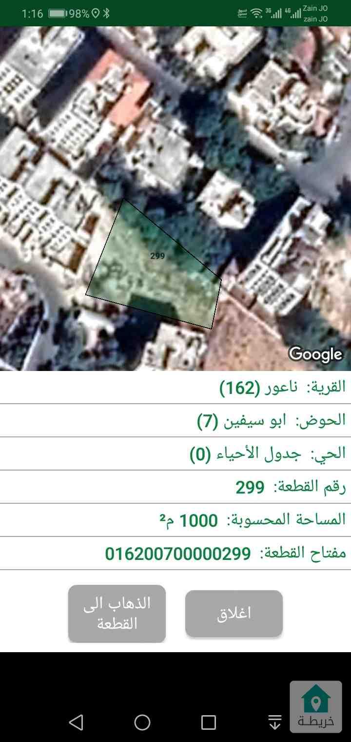 قطعة أرض للبيع بمنطقة مرج الحمام حوض ابو سيفين