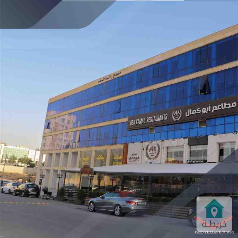 محلات تجاريه مساحات 24م للبيع في منطقة السابع شركة رائد خلف للاسكان