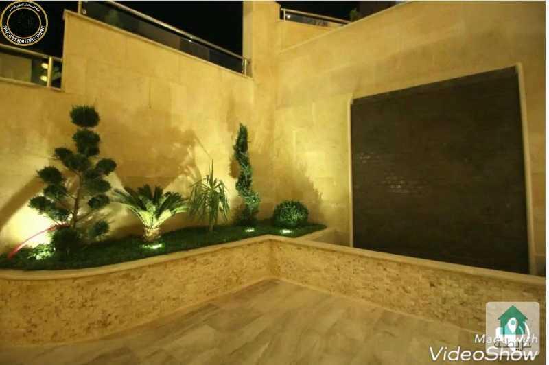 شقة فاخرة للبيع في خلدا 205م مع حديقة وترسات 150م بسعر 175000.