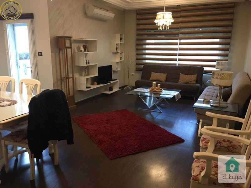 شقة ارضية مفروشة مميزة للبيع في الامير راشد 195م بسعر 108000