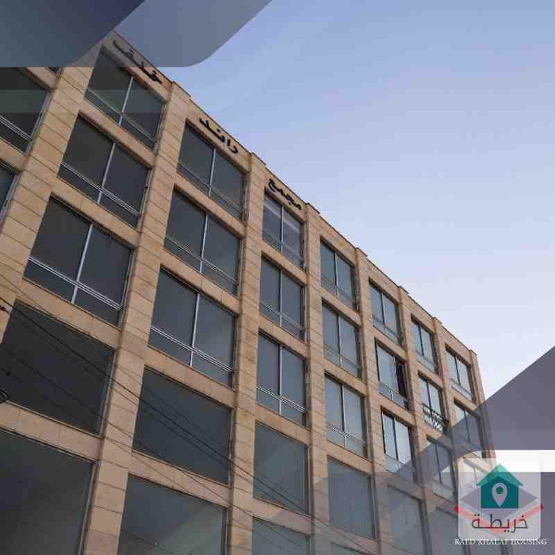 مكتب تجاري للبيع في الصوفيه 53م على الشارع شركة رائد خلف للاسكان