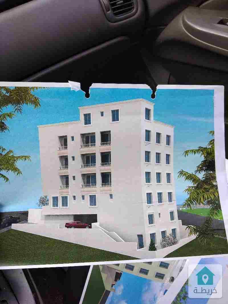 عمارة عظم ثلاث طوابق تسوية مكشوفة للبيع، شفا بدران، حي عيون الذيب.