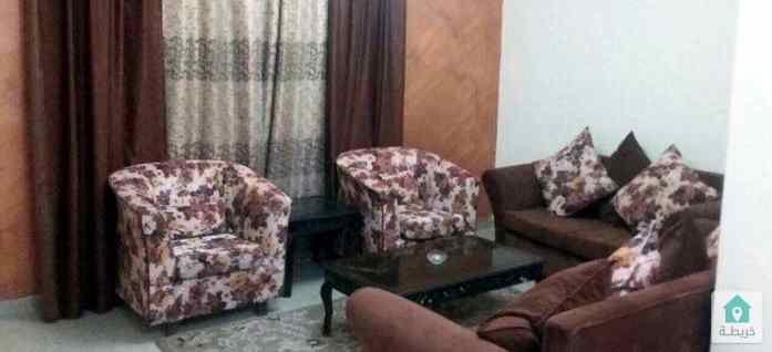 شقة مفروشة للايجار  الجبيهه-حي ام زويتينه بالقرب من  محلات ابوزويتيه  لمواد البناء