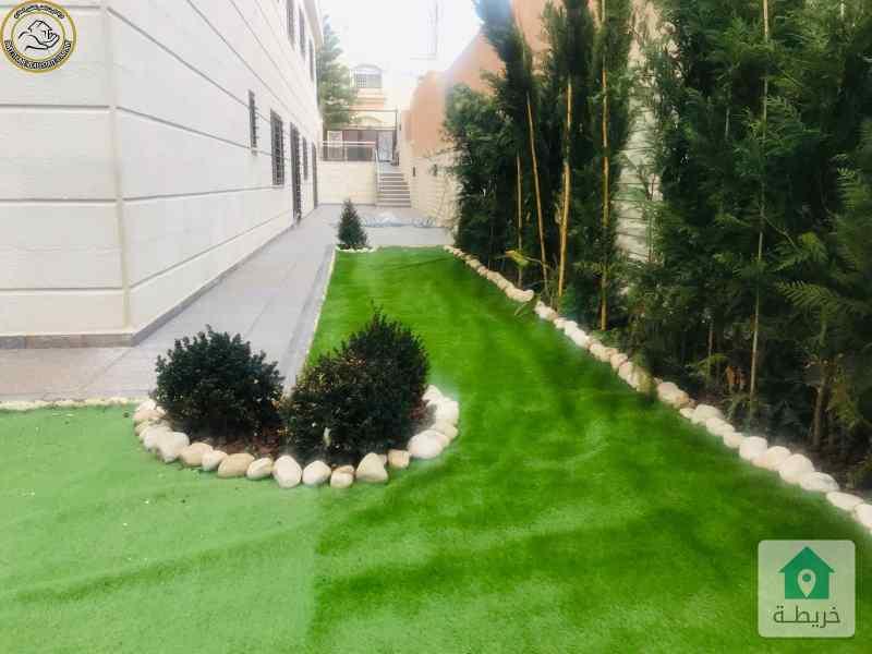 شقة فاخرة للبيع في الرابية 180م مع حديقة وترسات 150م لم تسكن  بسعر 200000