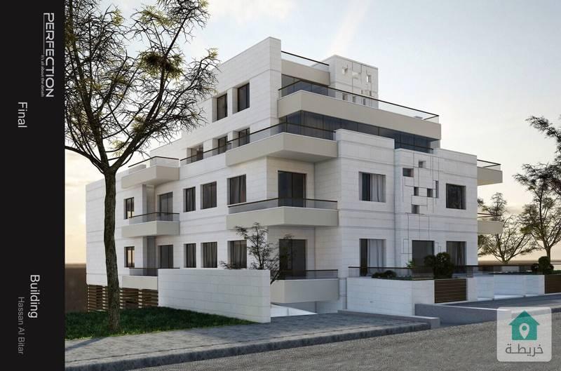 شقة ارضية للبيع في عبدون خلّف السفارة السعودية