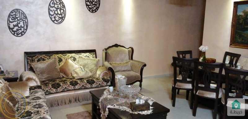 شقة ارضية مميزة للبيع في الامير راشد 135م بسعر 75000.