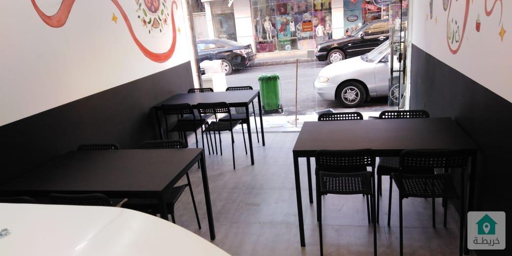 بسعر محروق مطعم في منطقة المطاعم بالصويفية للبيع
