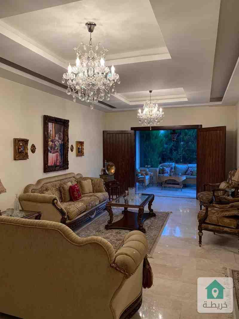 شقة ارضية مفروشة للايجار في ضاحية النخيل-شارع الاميرة هيا بنت حمزه
