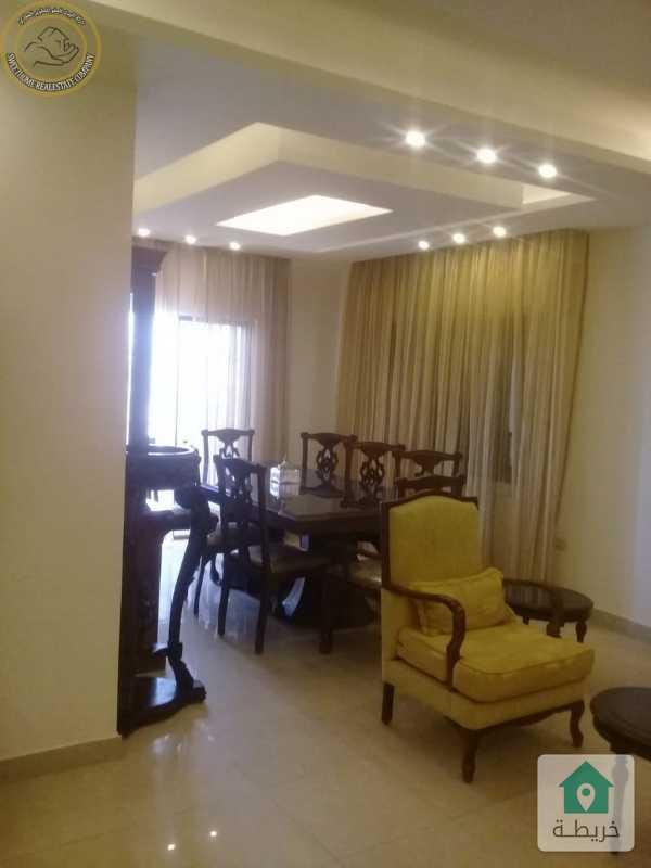 شقة مفروشة مميزة للبيع في الجاردنز طابق ثاني 175م بسعر 85000