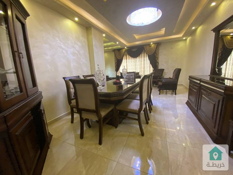 شقة مفروشة للبيع في ضاحية الرشيد مدرسة المنهل