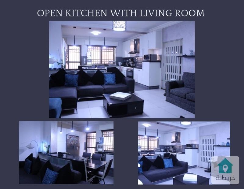شقة للبيع ٣ غرف نوم في منطقة الجبيهة (٢١٠ متر مربع)