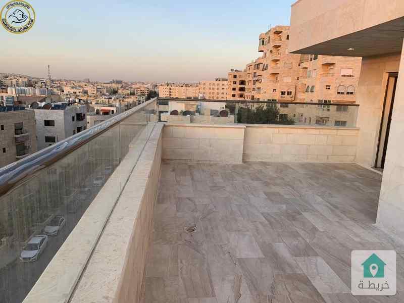 شقة مميزة للبيع في الرابية طابق ثاني 200م بسعر 120000 لم تسكن.