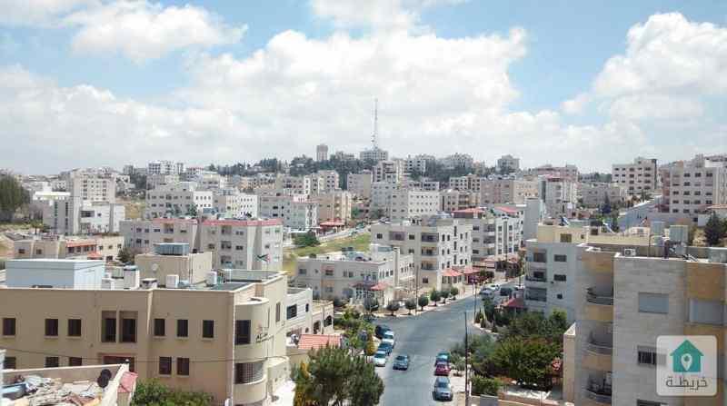 شقة مميزة للبيع في خلدا طابق ثاني 186م بسعر 110000 لم تسكن.
