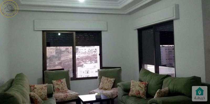 شقة مميزة للبيع في تلاع العلي طابق ثالث 175م مع روف 95م.
