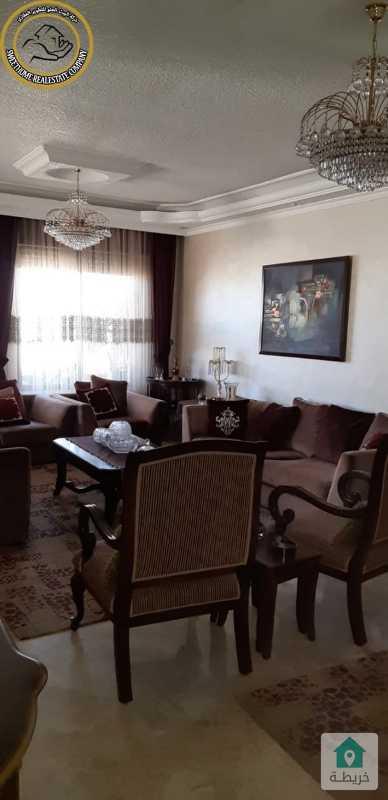 شقة مفروشة مميزة للبيع في تلاع العلي طابق ثالث 230م بسعر 125000.