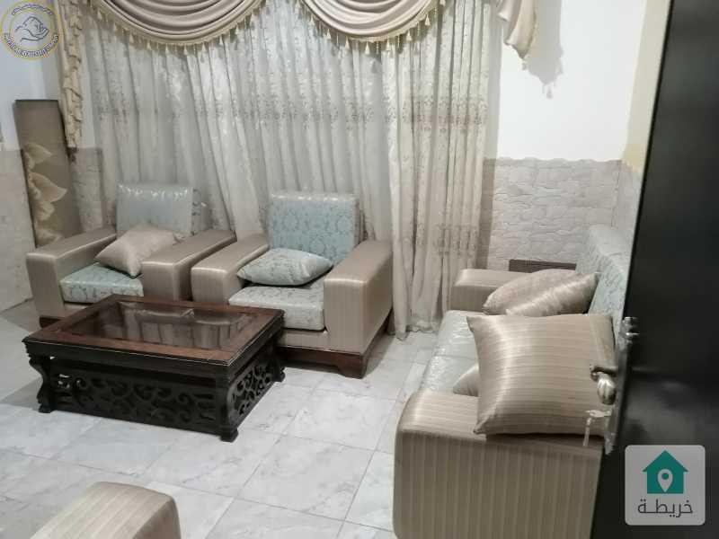 شقة مفروشة مميزة للبيع في خلدا طابق اول 90م بسعر 58000 لم تسكن