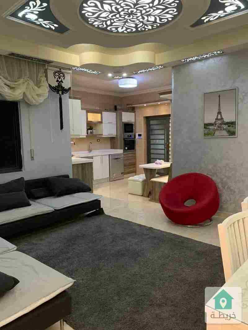 شقة ارضية للبيع في ربوة عبدون
