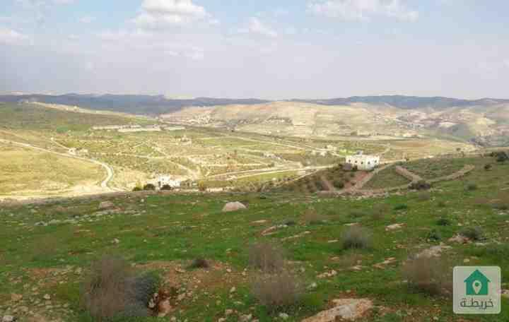 ارض للبيع في اجمل مناطق جرش او للبدل على شقة في عمان الغربية
