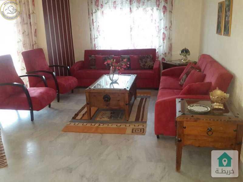 شقة مفروشة مميزة للبيع في الرابية طابق ثالث 165م بسعر 105000