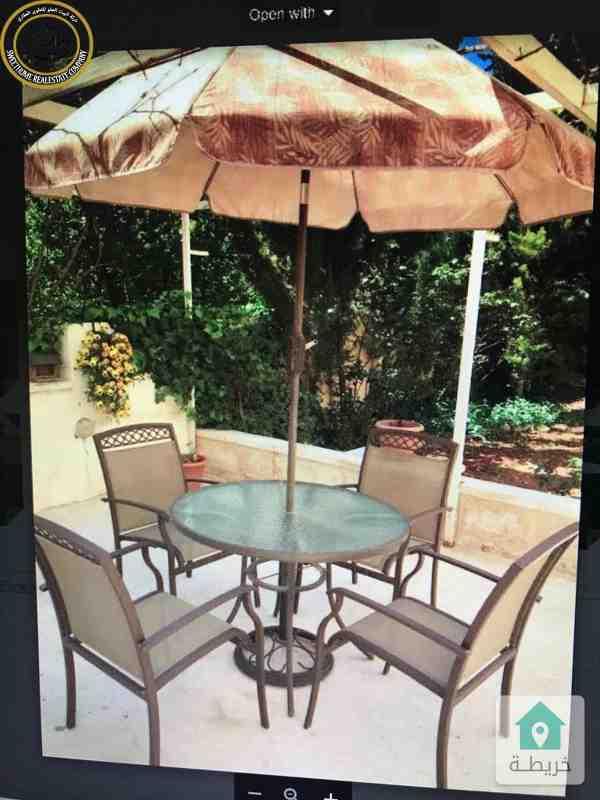 شقة ارضية مميزة للبيع في تلاع العلي 165م مع حديقة 150م بسعر 110000