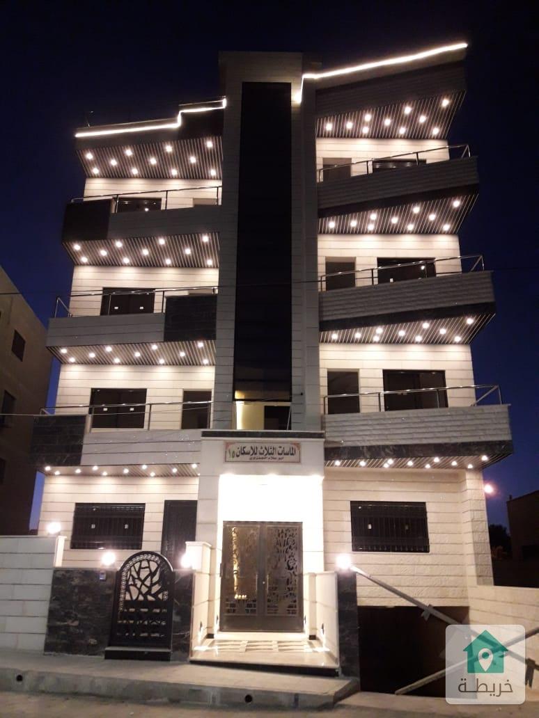 عمان ضاحية الحاج حسن شارع الاذاعة والتلفزيون  قرب فندق كراون  شقق فخمة ٢٢٢م  ٤ نوم ٢ ماستر