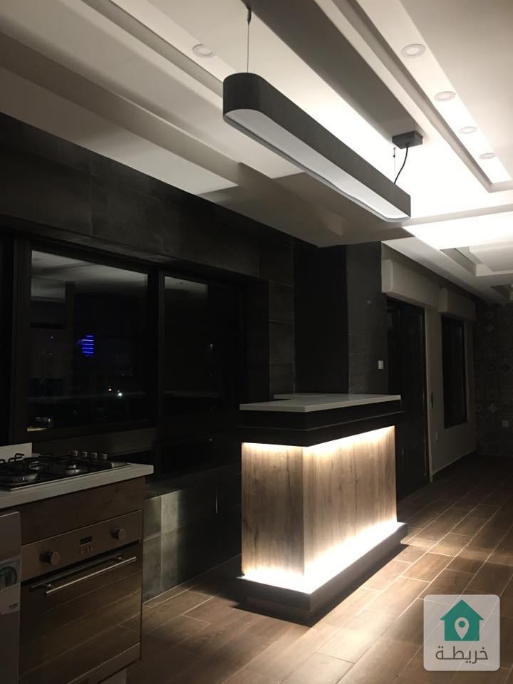 شقة فاخرة غرفة وصالة للايجار ام اذينة