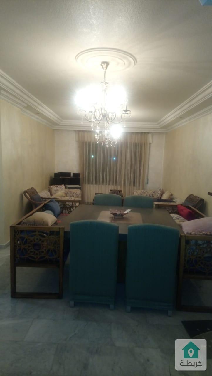 شقة للبيع في الكرسي مساحة 150 متر اطلالة مميزة