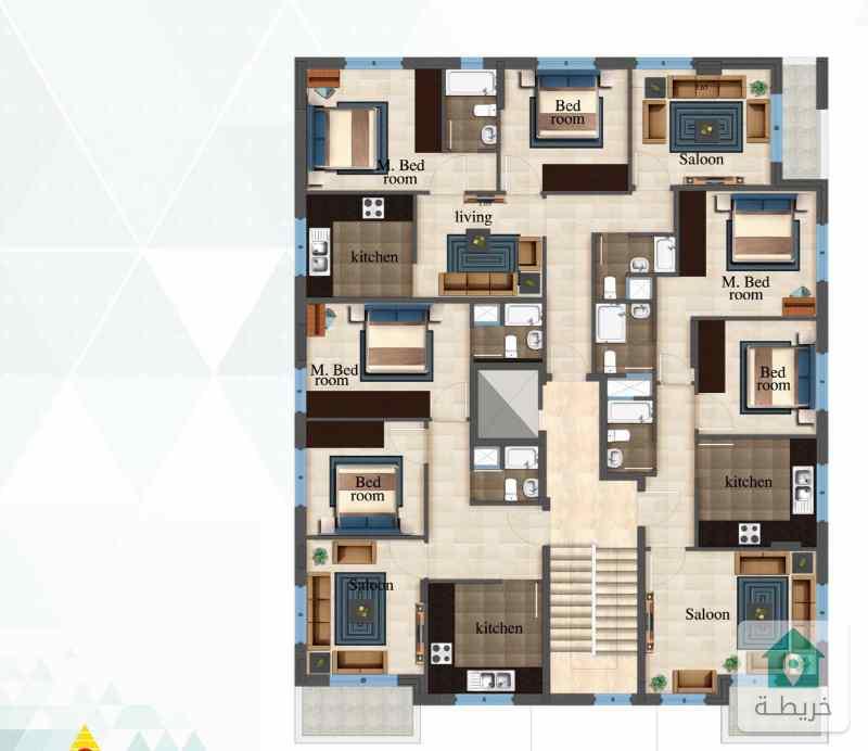 تملك شقة بسعر 28 الف في أجمل مناطق أبو علندا مساحة 85 م تشطيبات فاخرة