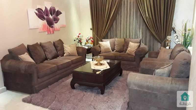 شقة للبيع فخمة طابق ثاني في حي راقي وهادي وذات موقع جذاب مساحتها 221 م²
