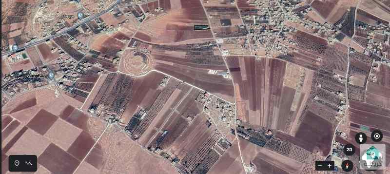 قطعة أرض مميزة للبيع في المدورة (ناعور) 1214