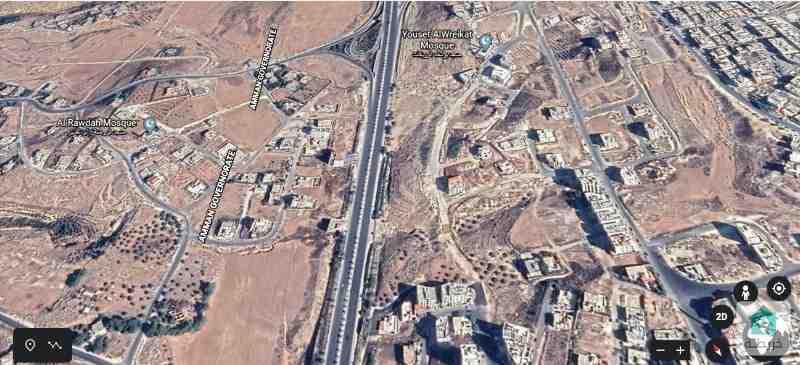 -1220-قطعة أرض بشارع الاردن سكنية للبيع