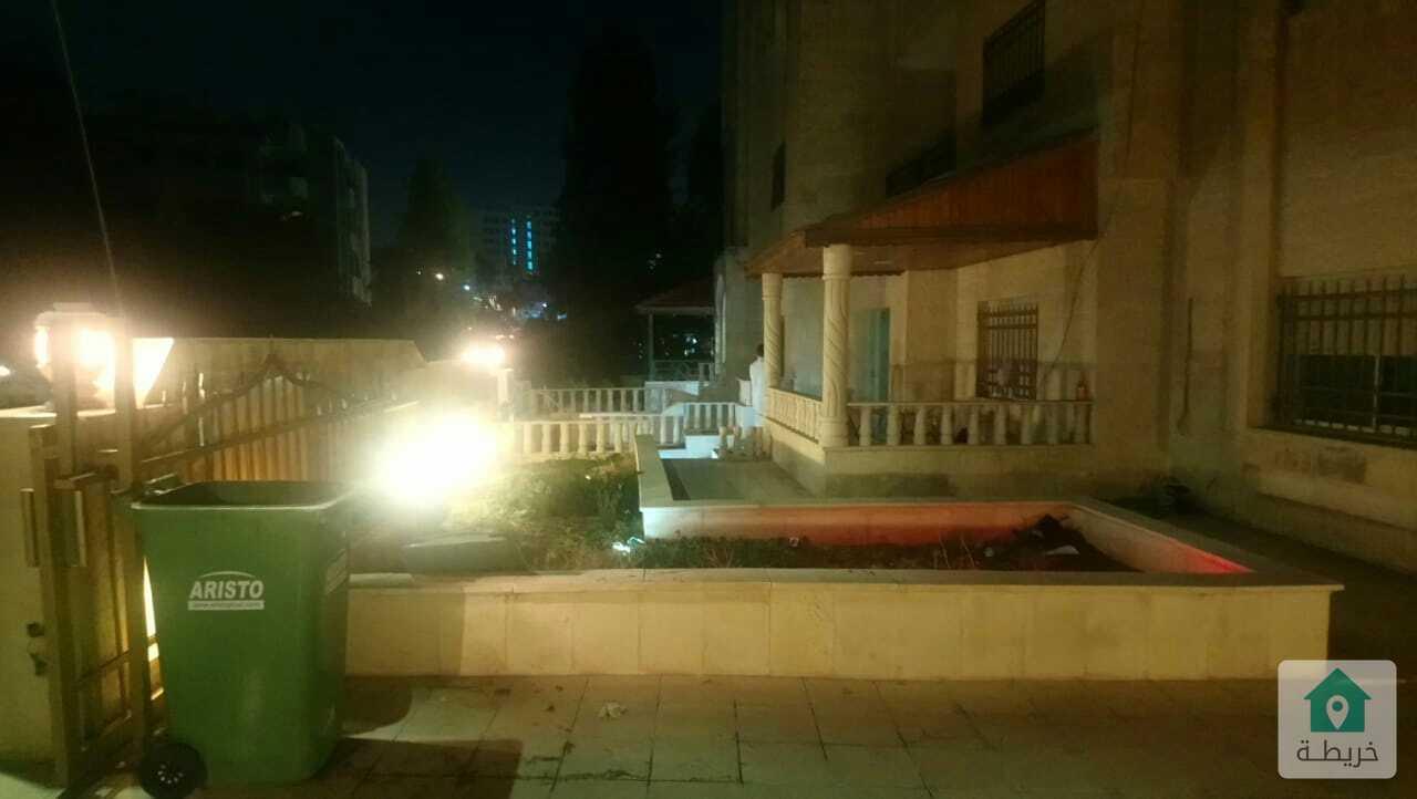 شقة ديبلوكس ارضي مع اول للبيع مساحة 500 متر خلف دوار الكيلو
