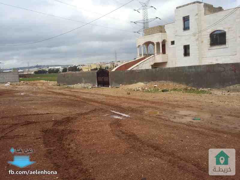ارض للبيع في قرية سالم/ الحنو الشمالي - قرب مدرسة الضفتين الاساسية الخاصة