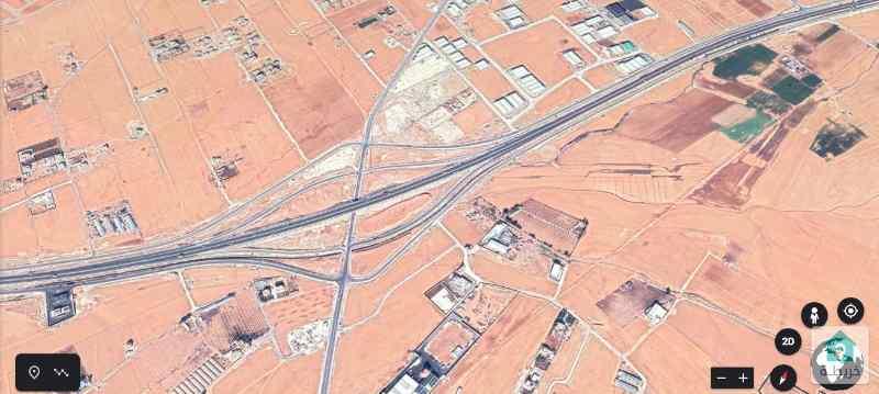 قطعة أرض استثمارية في رجم الشامي (1232)