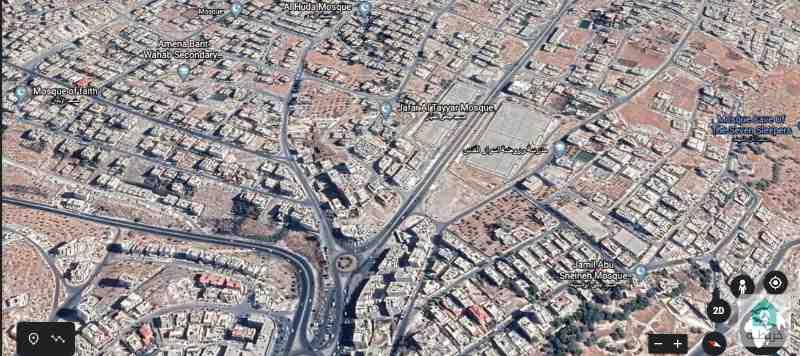 قطعة أرض سكنية في ابو علندا مميزة (1233)