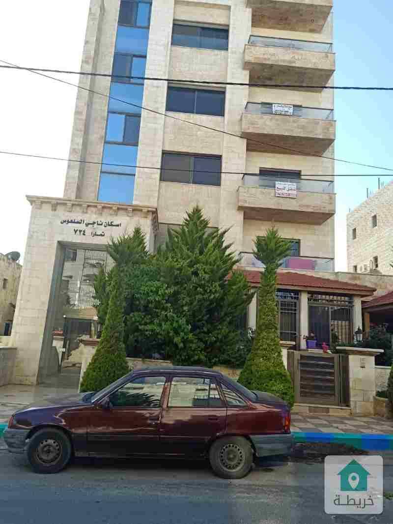 شقق طابقيه  للبيع اسكان ناحي السلعوس عمان الغربيه الرونق